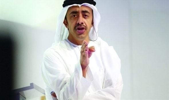 صوت الإمارات - عبدالله بن زايد يجري اتصالا هاتفيا مع وزير خارجية إيران الجديد