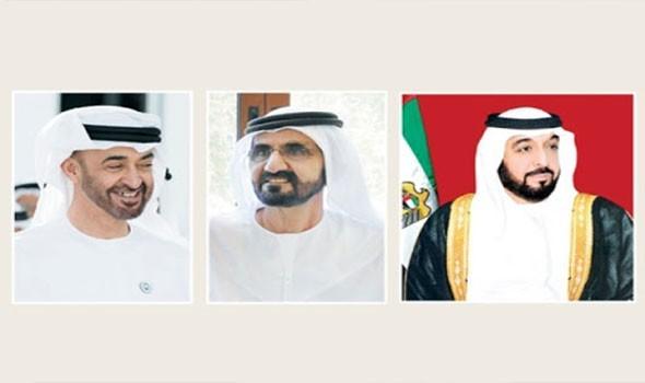 صوت الإمارات - خليفة ومحمد بن راشد ومحمد بن زايد يهنئون ملك إسبانيا ورئيس غينيا