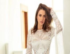 """صوت الإمارات - درة تتألق بفستان أنيق من دار الأزياء العالمية """"Bambah"""" في فينيسيا"""