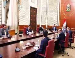 صوت الإمارات - خليفة بن طحنون يستقبل رئيس مجلس النواب العراقي في واحة الكرامة