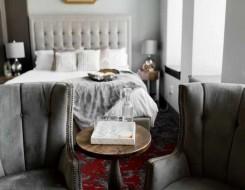 صوت الإمارات - اللون الفضي موضة الموسم في ديكورات غرف نوم العروس
